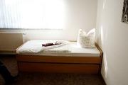 Schlafbereich in der Fewo Herrschmann