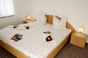erstes Schlafzimmer in der Ferienwohnung Königstein