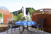 Terrasse Ferienwohnung Königstein