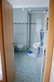 Bad in der Ferienwohnung Königstein