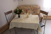 Wohnbereich in der Ferienwohnung Pfaffenstein